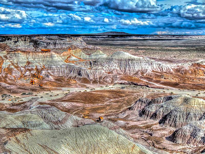 Photograph - Picturesque Blue Mesa by Don Mercer