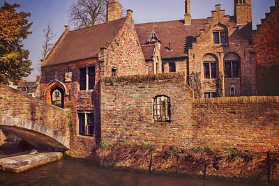 Picturesque Bruges  Art Print by Carol Japp