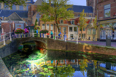 Photograph - Picturesque Delft by Uri Baruch