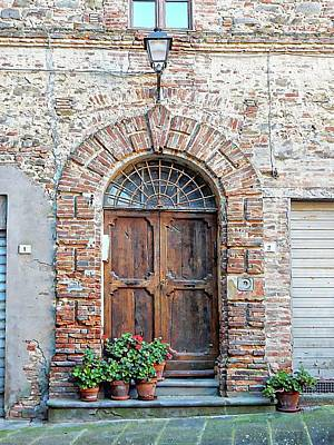 Photograph - Picturesque Doorway Panicale by Dorothy Berry-Lound
