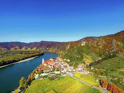 Durnstein Photograph - Picturesque Durnstein Austria by Mountain Dreams