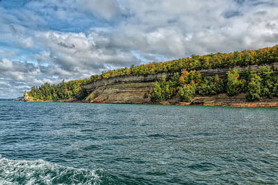 Photograph - Picturesque Pictured Rocks by John M Bailey