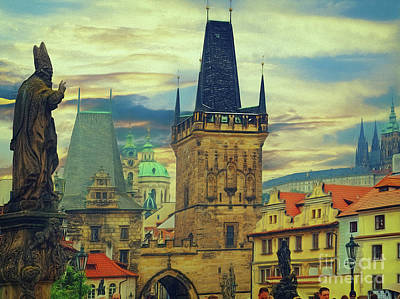 Photograph - Picturesque - Prague by Leigh Kemp