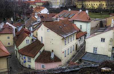 Picturesque Quarter Close To Prague Castle Art Print by Marek Boguszak