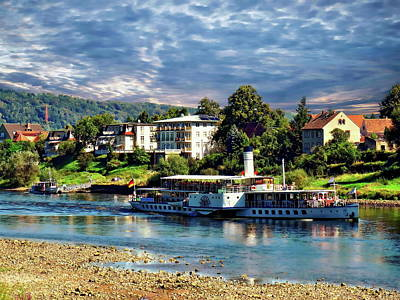 Photograph - Picturesque River Cruise by Anthony Dezenzio