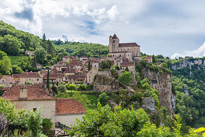 Photograph - Picturesque Saint Circ Lapopie In France by Semmick Photo