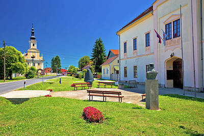Photograph - Picturesque Village Of Peteranec In Podravina  by Brch Photography