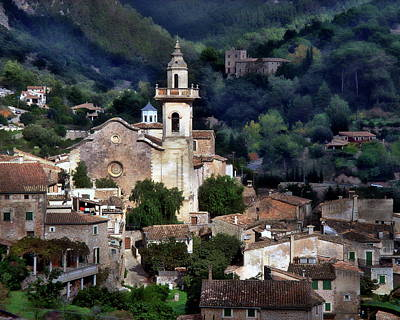 Photograph - Picturesque Village Of Valldemossa by Anthony Dezenzio