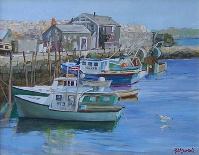 Painting - Pidgeon Cove  by Michael McDougall