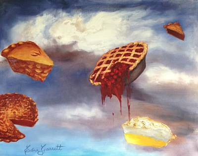 Painting - Pie In The Sky by Edna Garrett