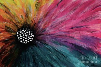 Piebald Flower By Nikki Menner Original