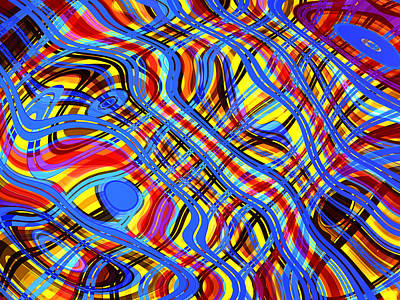 Networking Digital Art - Piece In C Sharp Major by Andreas Thust