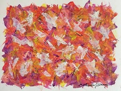 Piecefall  Art Print