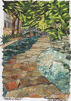 Riverwalk Mixed Media - Pieces Of Magic by Jan Burley Hunt
