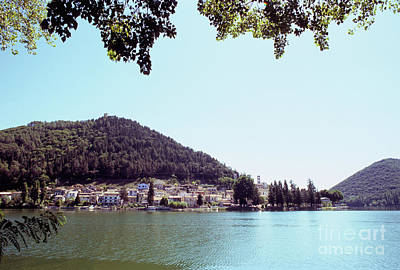 Photograph - Piediluco And Piediluco Lake by Fabrizio Ruggeri
