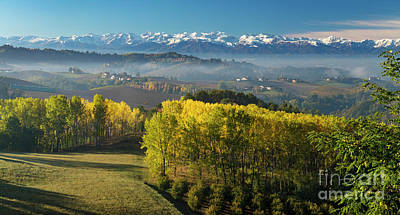 Photograph - Piemonte Autumn View by Brian Jannsen