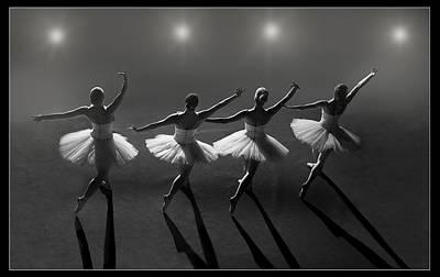 Bailarina Photograph - Ballet by Jose Tabares