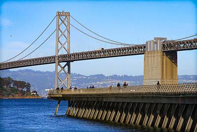 New Years - Pier 14 San Francisco by Bonnie Follett