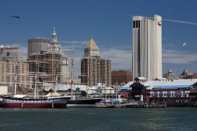 Photograph - Pier 17 Nyc by Ken Barrett