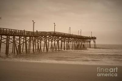Photograph - Pier - 2 by Bob Sample