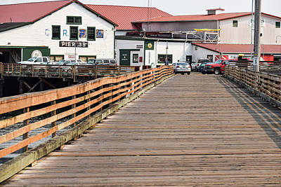 Photograph - Pier 39 In Astoria by Tom Cochran