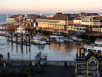 Photograph - Pier 39 In The Sunshine by Carol Groenen