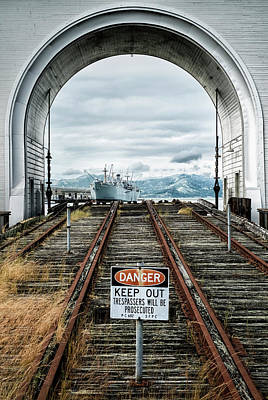 Photograph - Pier 43 Ferry Arch San Francisco California by Mary Lee Dereske