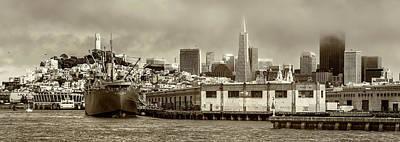 Photograph - Pier 45 by Thomas Schreiter