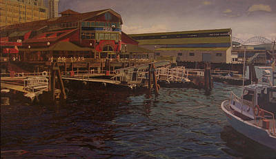 Pier 55 - Red Robin Art Print