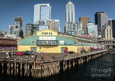 Photograph - Pier 56 by Deborah Klubertanz