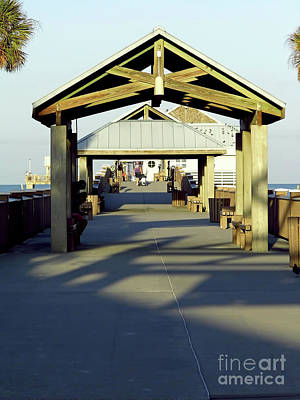 Photograph - Pier 60 Clearwater Beach by D Hackett