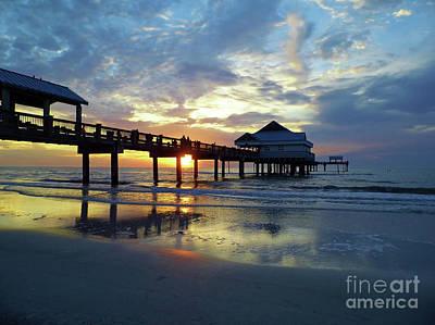 Photograph - Pier 60 Sunset by D Hackett