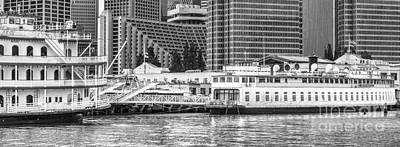Photograph - Pier 7 Embarcadero Riverboats by David Zanzinger