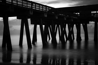Photograph - Pier Abstract by Renee Sullivan