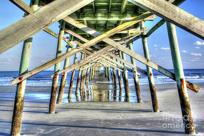 Photograph - Pier by LR Photography