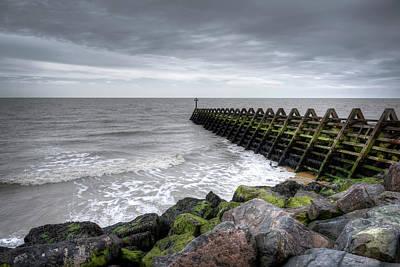 Photograph - Pier And Sea by Svetlana Sewell