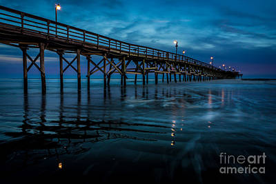 Photograph - Pier At Dusk by David Smith