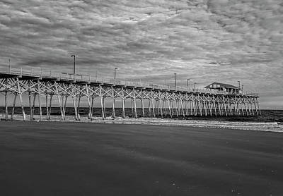 Photograph - Pier At Garden City by Cathie Crow
