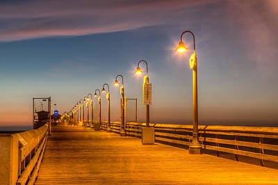 Photograph - Pier At Imperial Beach, Ca by Peter Dyke