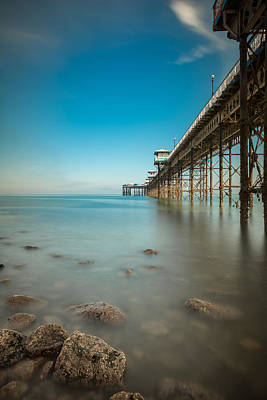 Photograph - Pier At Llandudno, North Wales by Andy Astbury