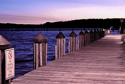 Photograph - Pier At Sunrise by Buddy Scott