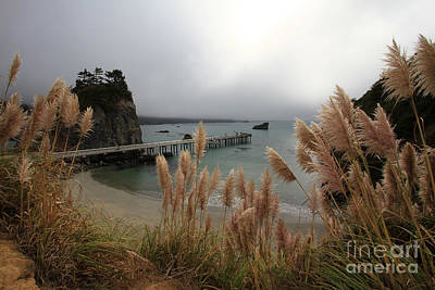 Photograph - Pier At Trinidad Bay, Trinidad, Ca  Oct. 5, 2015 by California Views Archives Mr Pat Hathaway Archives
