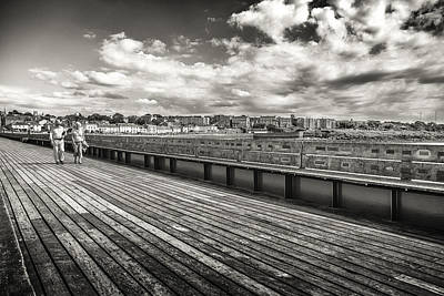 Photograph - Pier Back  by Stewart Scott