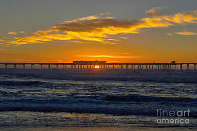 Photograph - Pier Cafe by Bob Brents