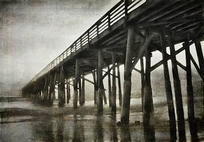 Photograph - Pier Dark by Alice Gipson
