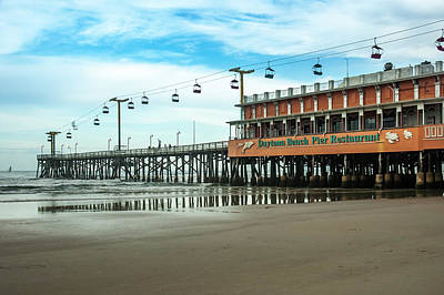 Photograph - Pier Daytona Beach by Carolyn Marshall