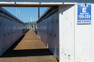 Photograph - Pier E Sausalito by Bonnie Follett