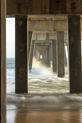 Photograph - Pier Energy by Davin McLaird