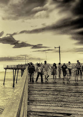 Photograph - Pier Group by Joseph Hollingsworth