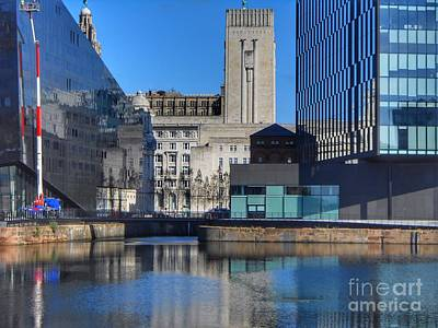 Photograph - Pier Head At Mann Island by Joan-Violet Stretch